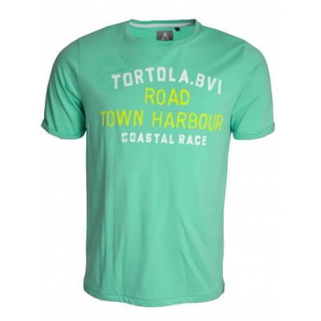 T-shirt Gaastra vert crewlist pour homme