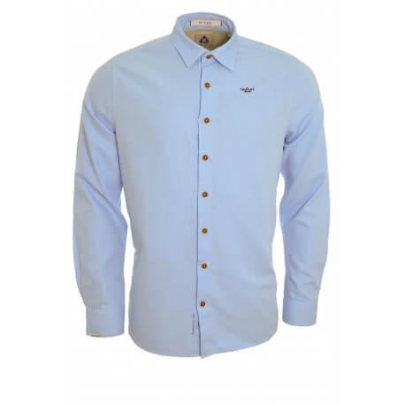 Chemise Gaastra bleu Barnet pour homme